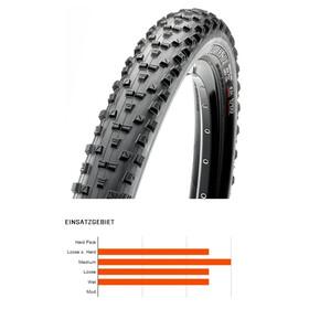 "Maxxis Forekaster - Pneu vélo - 27.5"" Dual TR EXO souple noir"